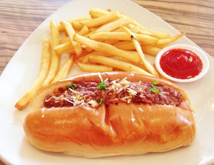 Chicken Chilli Dog