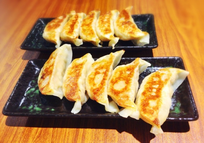 Yaki Gyoza (Pork & Ebi)