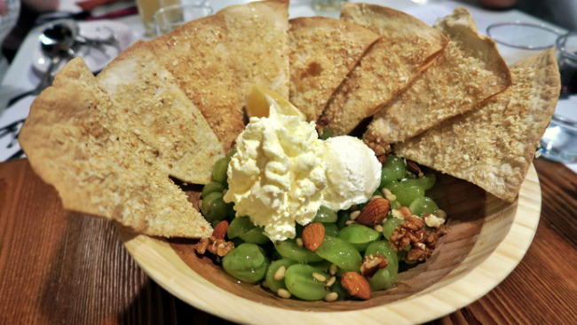 Your only sweet ending at Chir Chir – Honey Grape Salad