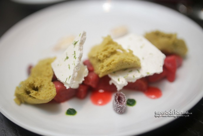 Desserts -Strawberries & Mascarpone