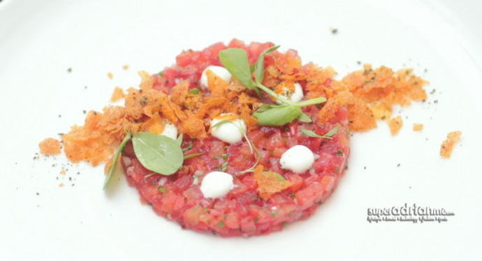 The-Disgruntled-Chef-at-The-Club-Tomato-and-Watermelon-Tartare-1.IMG_8696-690x373